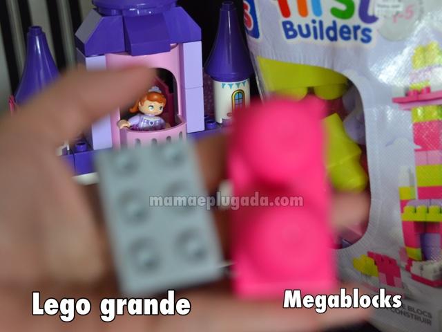 Blocos de montar: comparando lego duplo e megablocks