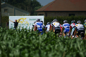 Spandoek natourcriterium op BK wielrennen Hooglede-Gits 2011