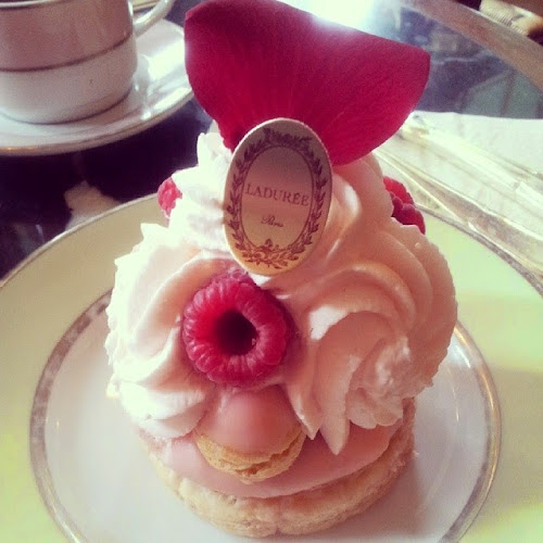 Cake at Laduree Paris