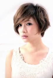 korean short straight haircut