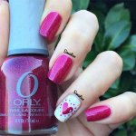 adorable valentine's day nail art 2016
