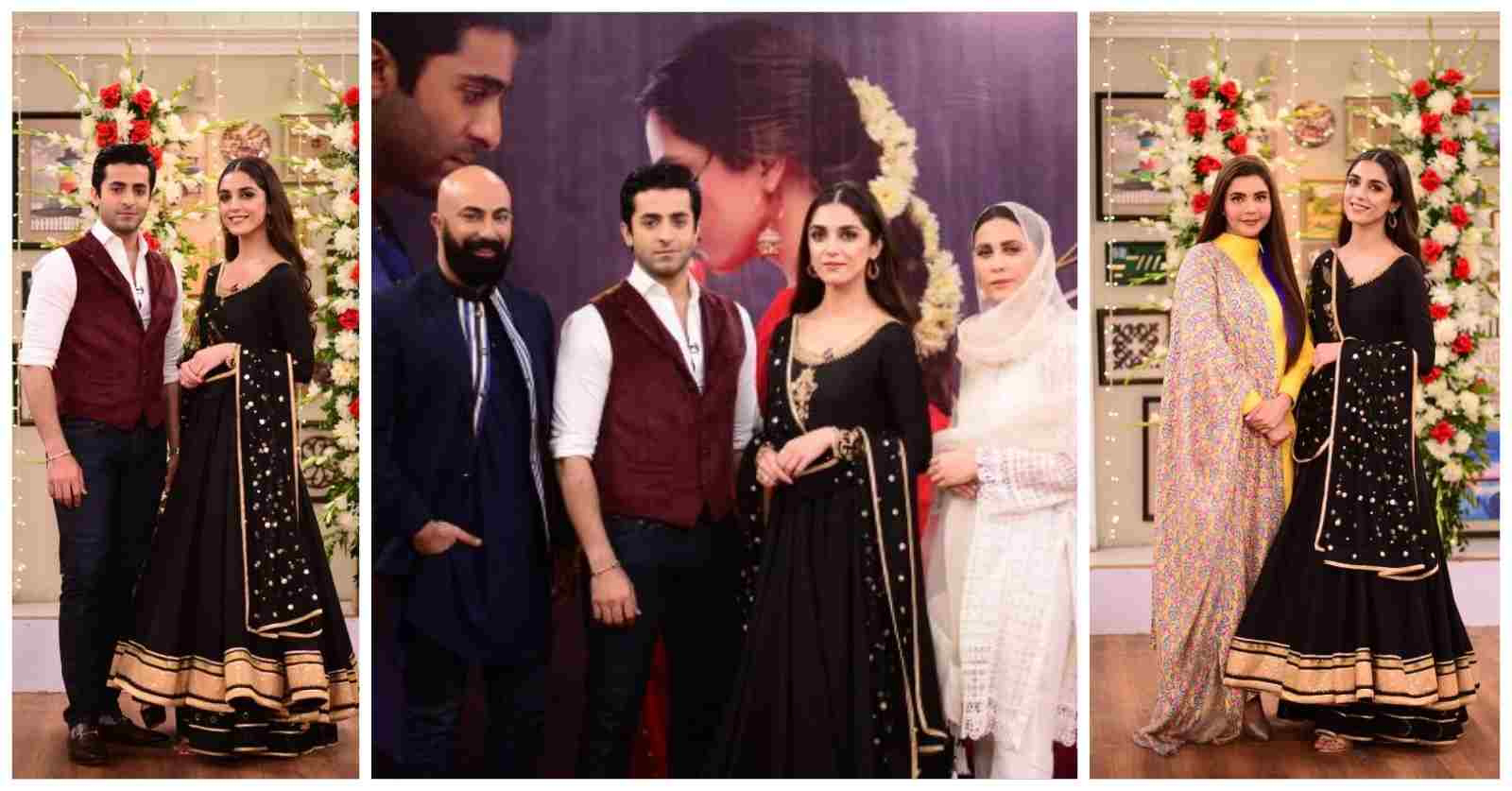 Pictures of Drama Pehli Si Mohabbat Cast from Good Morning Pakistan Show