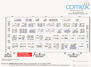 COMEX 2014 Floor Plan Lvl 6