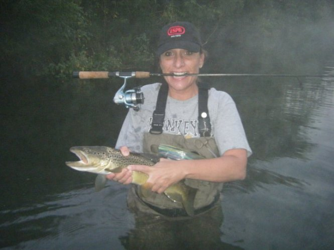 July 31 I Hit Three More Iowa Driftless Streams One Of These Was A Real Keeper It Wide Spring Creek With Several Brown And Rainbow Trout