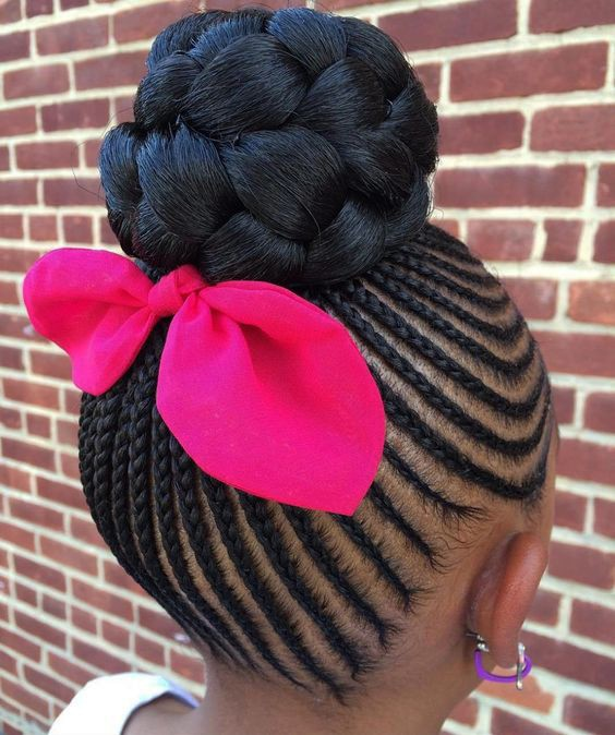 2018 Black Girls Braided Hairstyles - Little Black Girls Hairstyles 3