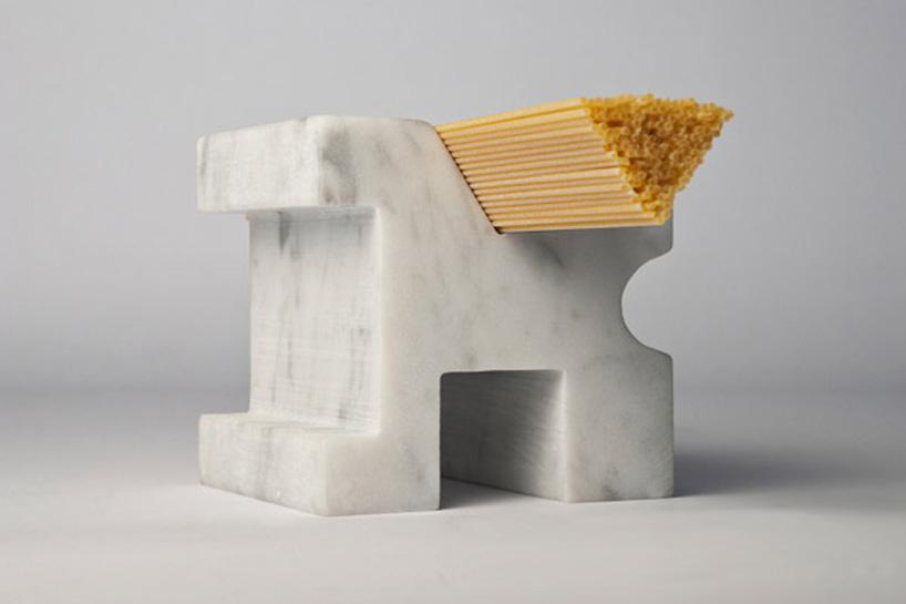 *Studio Lievito:白色大理石量麵器! 2