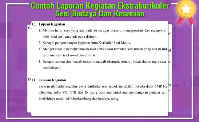 Laporan Bdr Kegiatan Ekstrakurikuler Pramuka Cute766