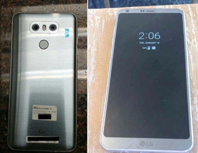 Leaked - See Images Of The New LG G6 2