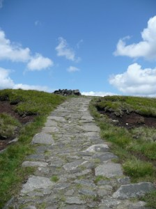 Path to Edale Rocks