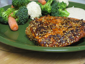 Blackened Sesame Salmon