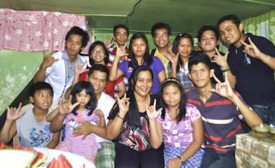 Dennis Aidri Cellona's Family (Sampaloc, Manila) - January 27