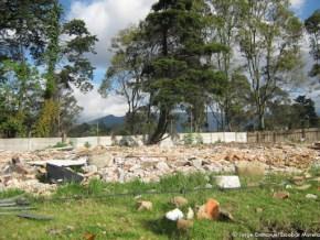 Escombros en Tibabuyes