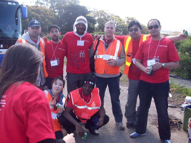 IVLP 2010 - Volunteer Work at Presidio Trust - 100_1417.JPG