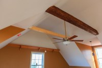 Vaulted Ceiling With Faux Beams | Integralbook.com