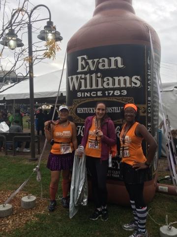 urban bourbon half marathon pros