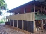 Renovated Veranda and workshop walls