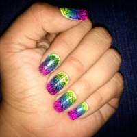 Trendy Colorful Nail Design 2017 - Styles Art