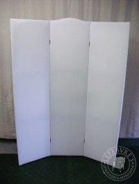 Lefebvre's Upholstery: Headboard & Room Divider - White