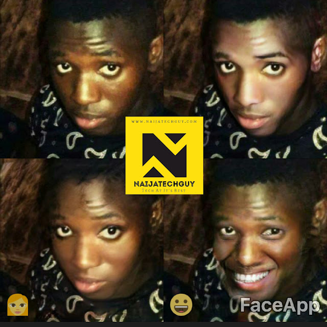 Check Out Ex President Obasanjo, Tekno, Genevieve Nnaji And Others After A FaceApp Transformation 9
