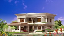 Work Finished House Plan - Kerala Home Design And Floor Plans