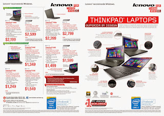Lenovo COMEX 2014 Flyer - Think Page 1