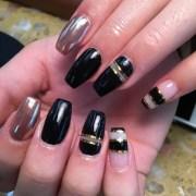 pretty acrylic nails design