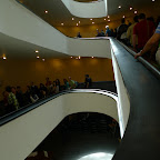 The tour group was huge.  It stretched arond the entire spiral stair.