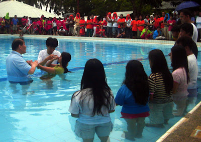 Day 4 - One Deaf camper was immersed following the baptism of Christ. A total of eight Deaf persons were baptized.