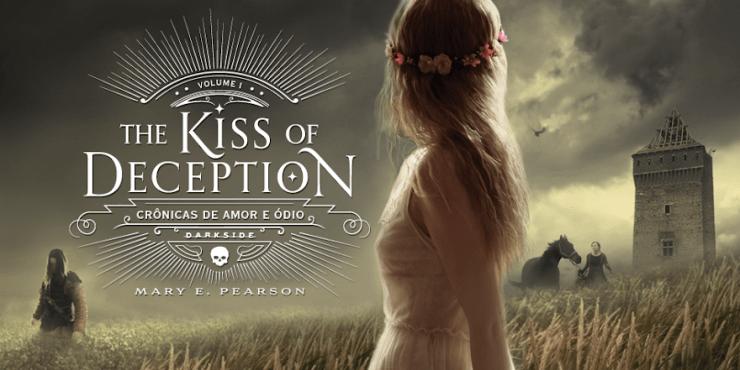 DarkSide Books lança The Kiss of Deception no Brasil com capa dura e acabamento de luxo