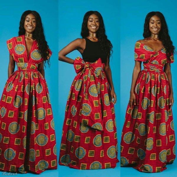Latest Ankara Fabrics Styles Of 2018 - Fashionte