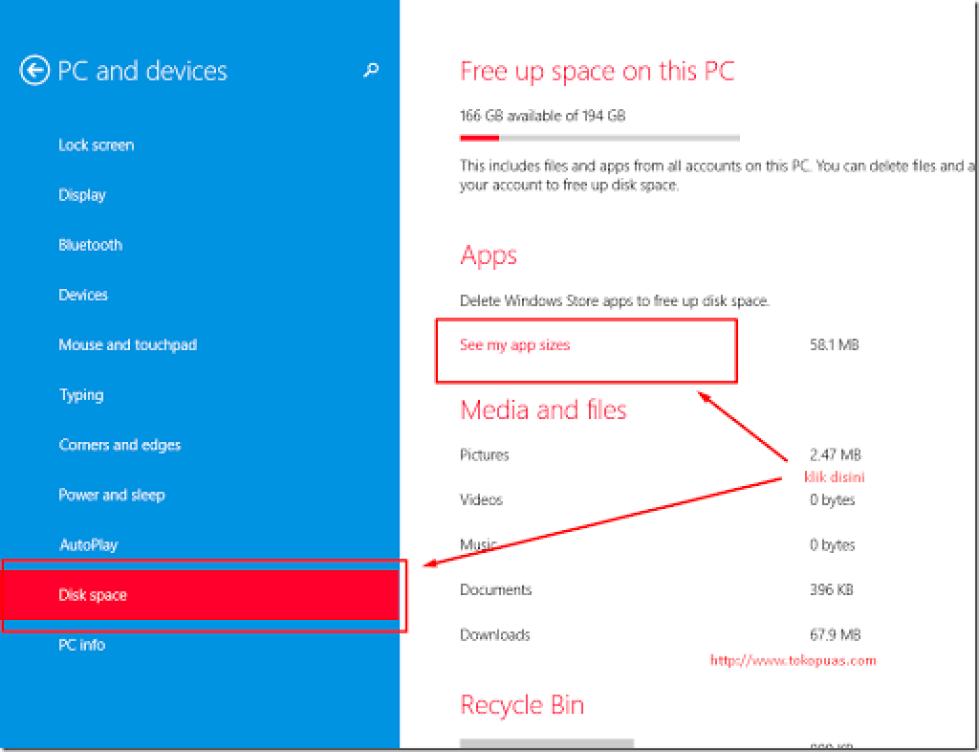 cara unistall aplikasi bawaan tile windows cepat