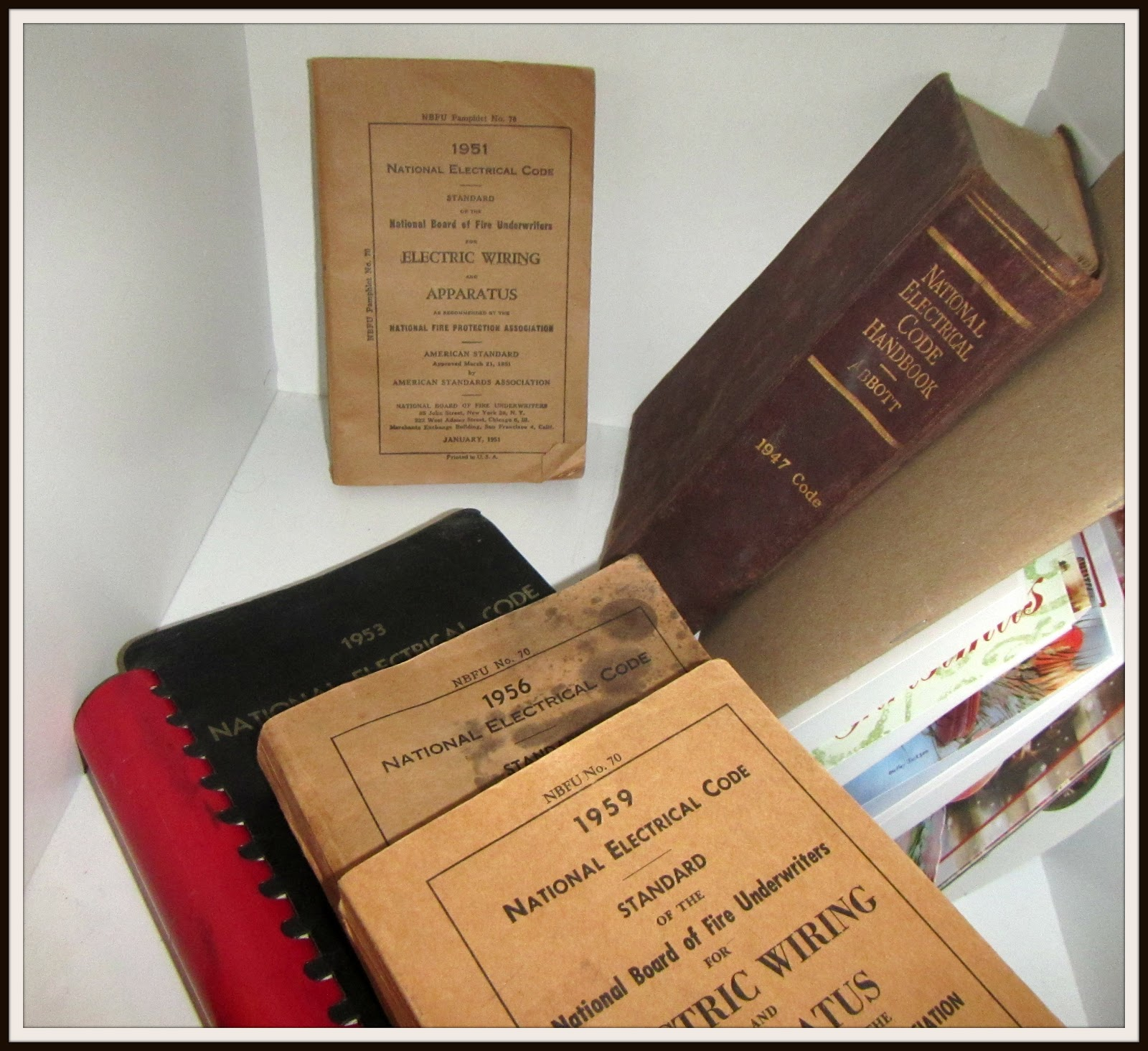 hight resolution of nec code books 1959 to 1947