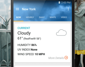 Accuweather Android Apps On Google Play