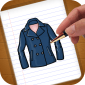 How to draw clothes icon