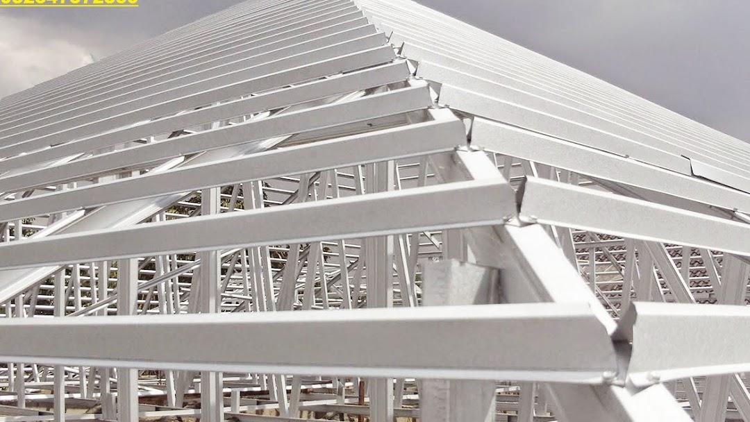 rangka baja ringan di manado jual jasa pasang atap cv karunia pencipta