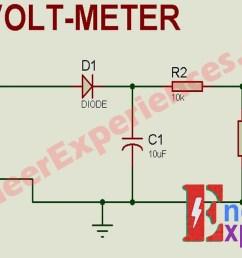 voltag measuring circuit of 3 phase smart energy meter [ 1366 x 651 Pixel ]