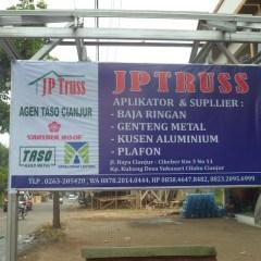 Pasang Atap Baja Ringan Di Cianjur Jp Truss Bajaringan Toko Bahan Bangunan