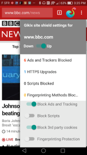 Browser with no tracking & ads APK