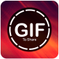 GIF for whatsapp to Share pour PC et Mac icône