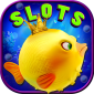 Big Golden Wild Fish Slots Win icon