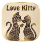 Love Kitty Keyboard theme icon