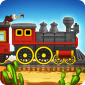 Western Train Driving Race icon