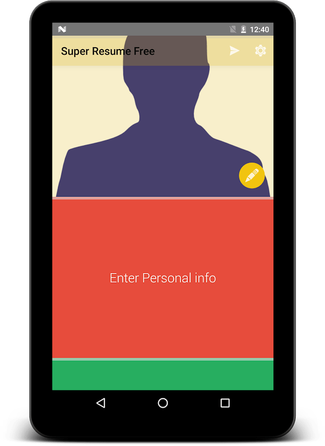 top resume maker app