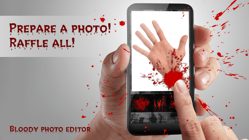 Bloody photo editor APK