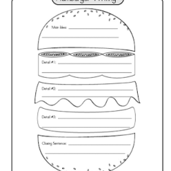 Essay Writing Sandwich Diagram Whelen 9m Wiring 5 Paragraph Graphic Organizer