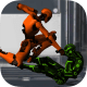 Street Robot Fighting HD 3D Sur PC windows et Mac