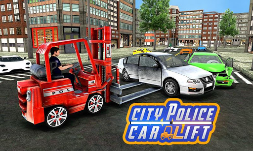 City Police Car Lifter Game 3D APK