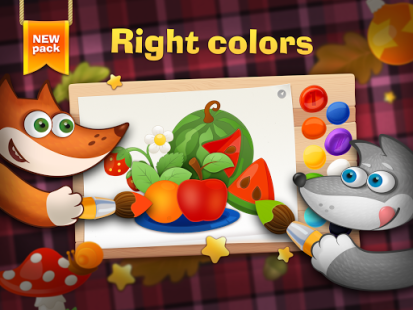 Tim the Fox - Paint Free APK