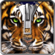 Tiger lock screen. windows phone