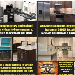 Kitchen Az Cabinets Wrought Iron Chairs More Chandler Remodels Under 10 000 Counter Tops And Ss Appliances In Mesa Gilbert Areas